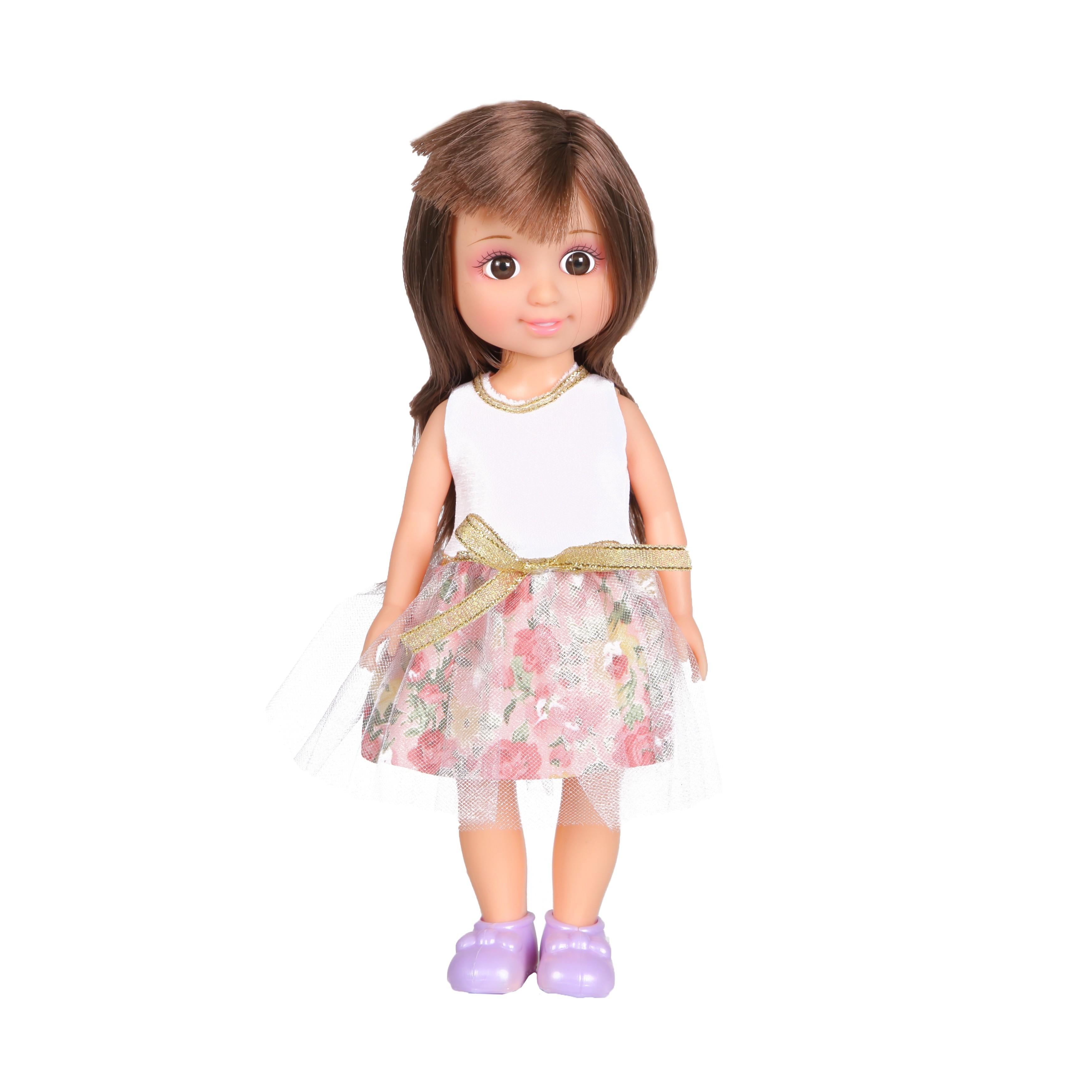 Кукла YAKO Jammy в цветочном наряде кукла yako jammy доктор m6309