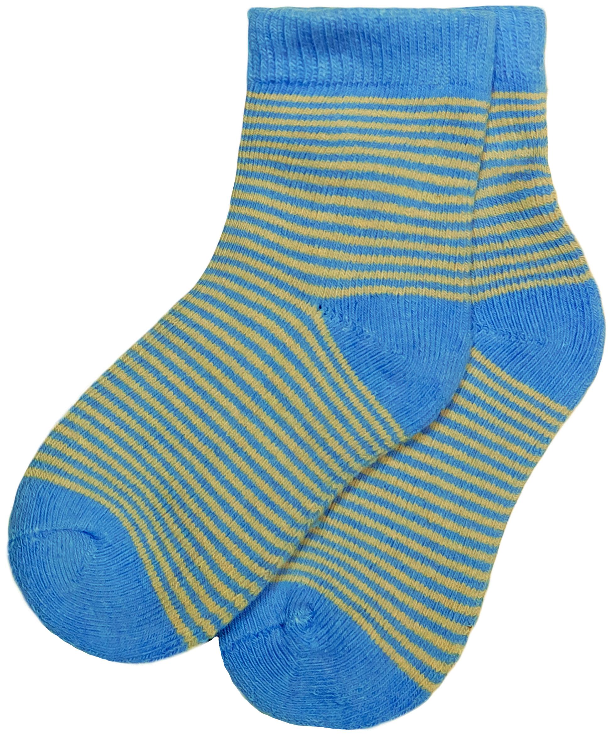 Носки Barkito Носки махровые для мальчика Barkito, голубые с рисунком в полоску ostin махровые носки с новогодним рисунком