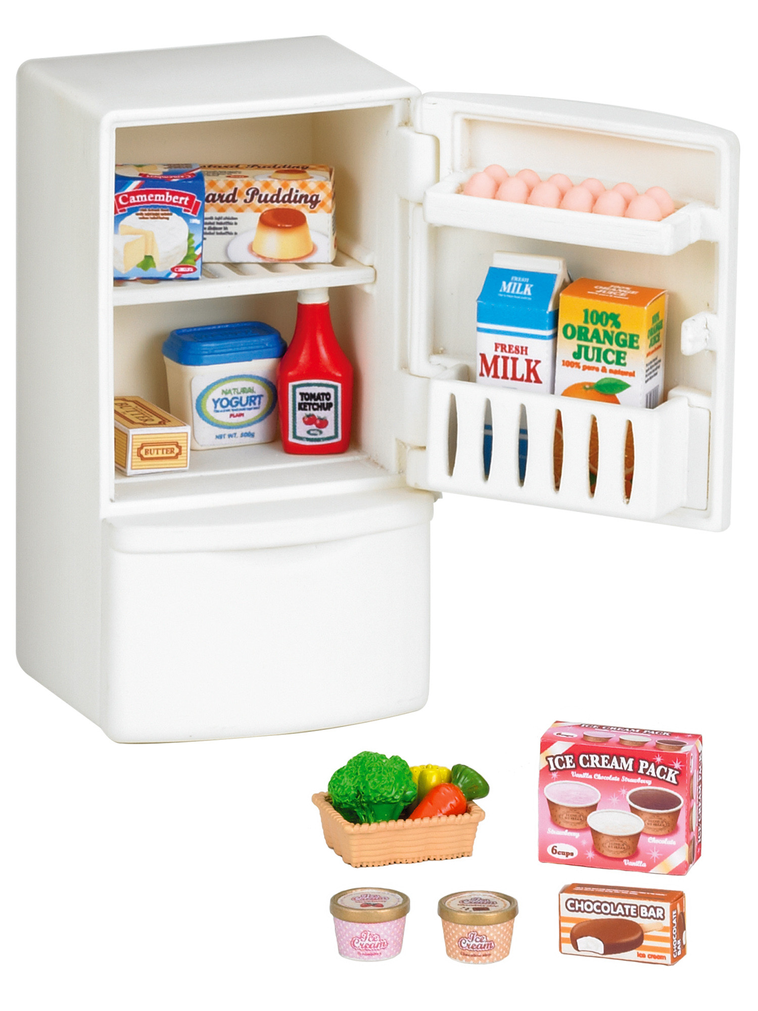 Sylvanian Families SYLVANIAN FAMILIES Игровой набор Sylvanian Families «Холодильник с продуктами» sylvanian families холодильник с продуктами