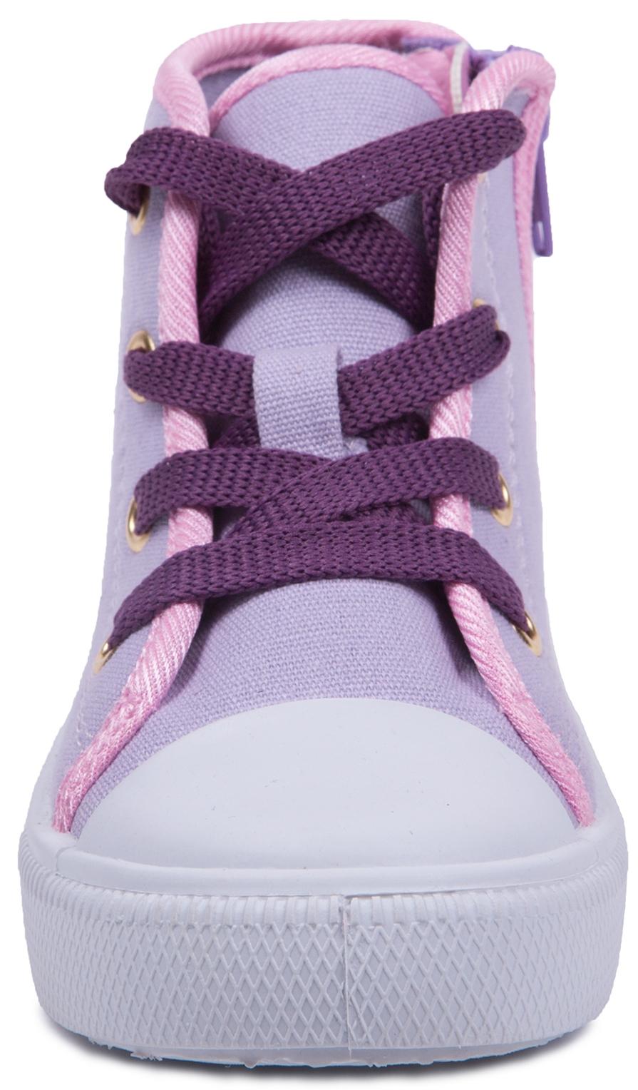 Кроссовки и кеды SOFIA THE FIRST Ботинки для девочки Sofiа The First, сиреневые пантолеты для девочки sofia the first голубые