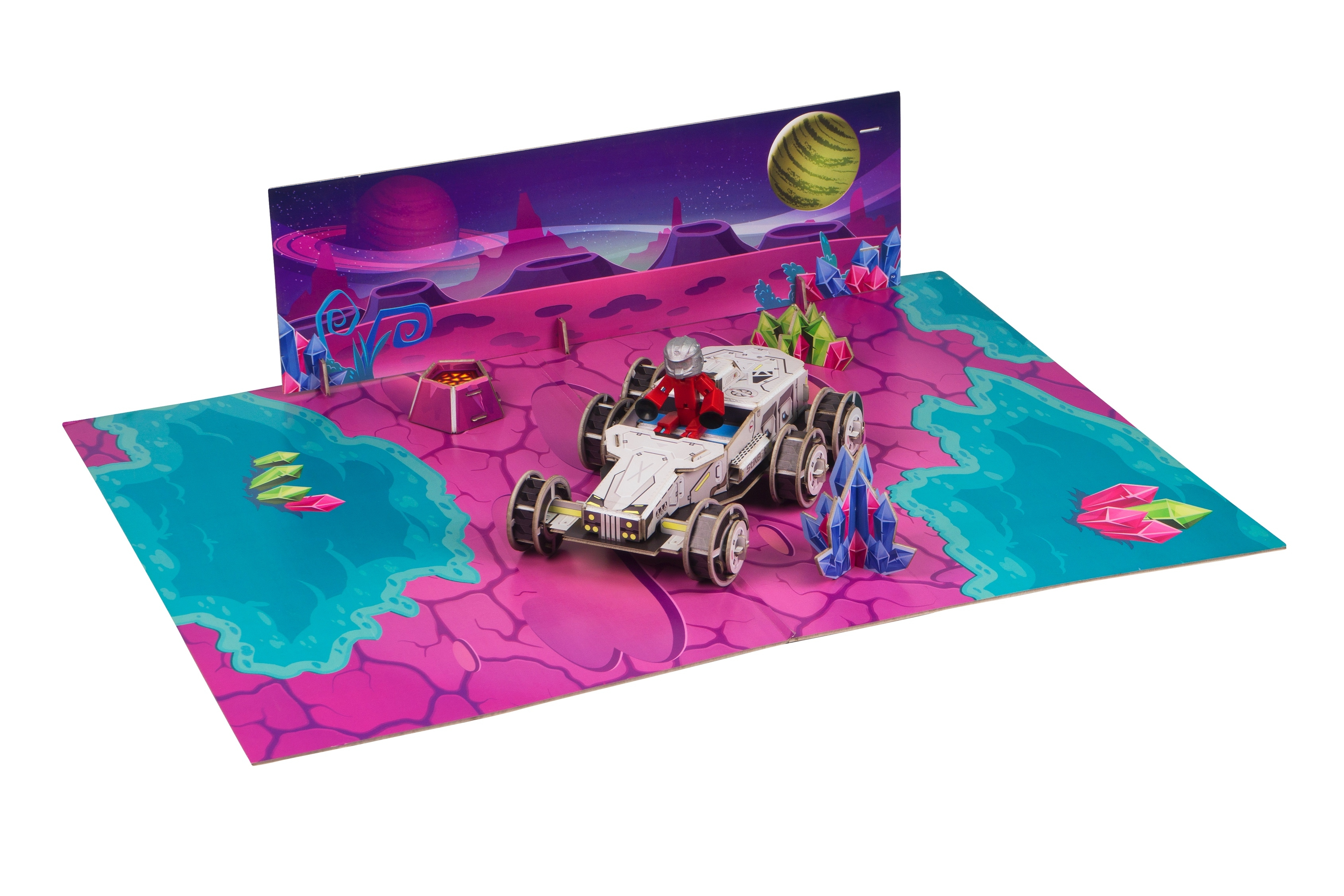 Игровой набор Stikbot Космическая станция игровой набор stikbot tst615a