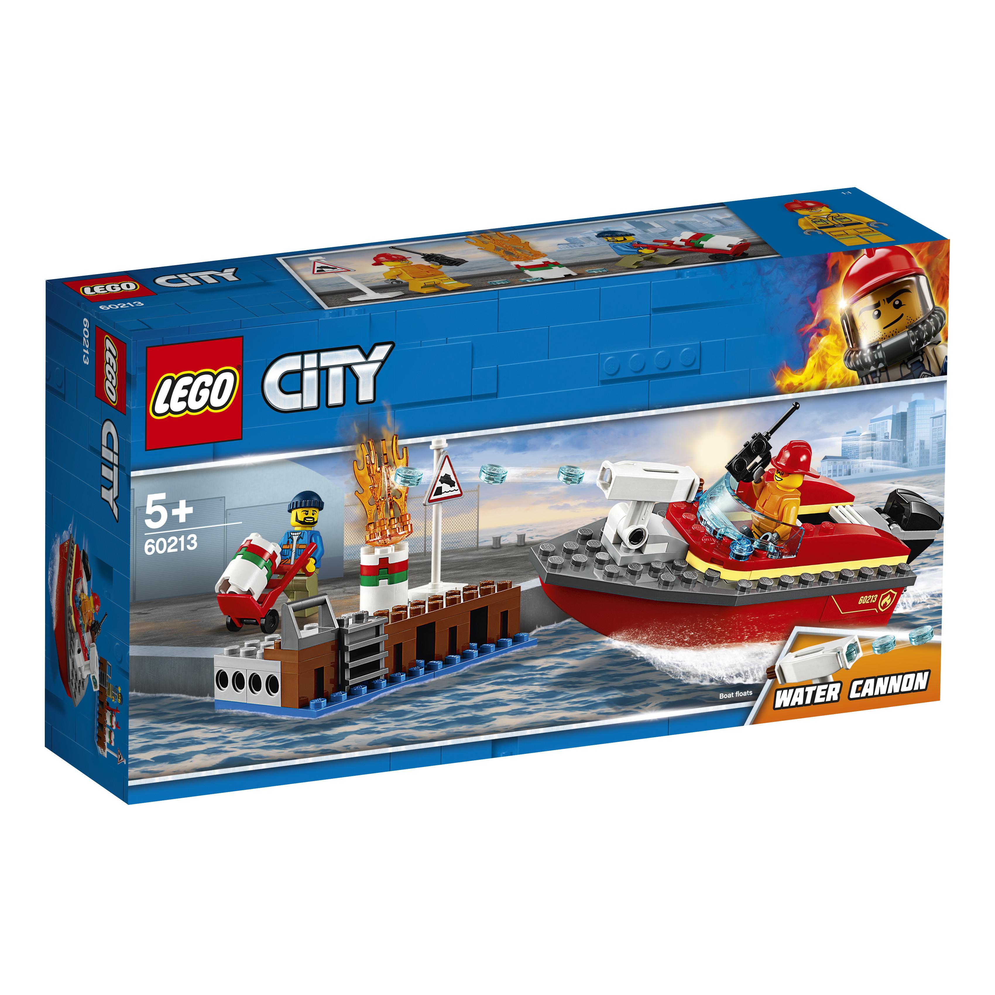 Конструктор LEGO Fire 60213 Пожар в порту в порту