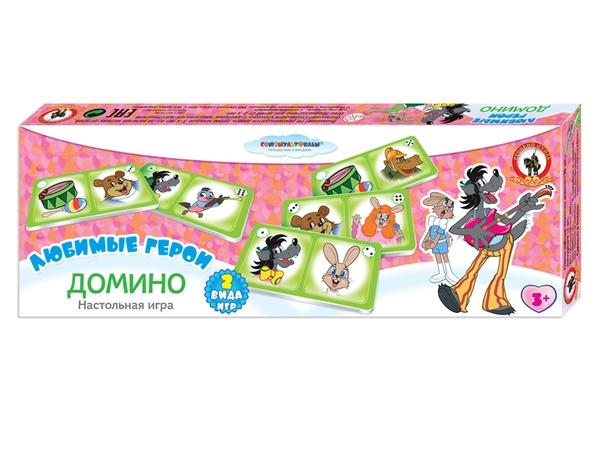 Развивающие и обучающие Русский стиль Ну, погоди домино детское русский стиль ну погоди