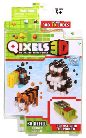 Дополнительные наборы Qixels для 3D-Принтера spin master дополнительные наборы qixels для 3d принтера в ассортименте