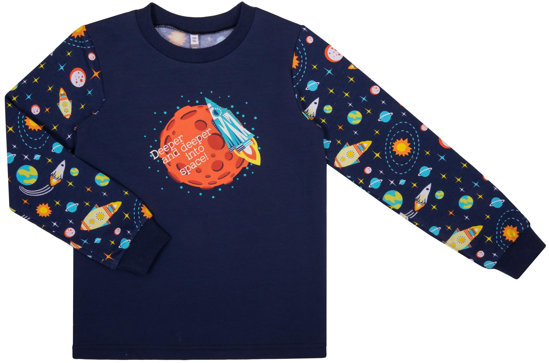 Фото - Пижама для мальчика Barkito Сновидения W18B4006S(6) пижама трикотажная аника синяя
