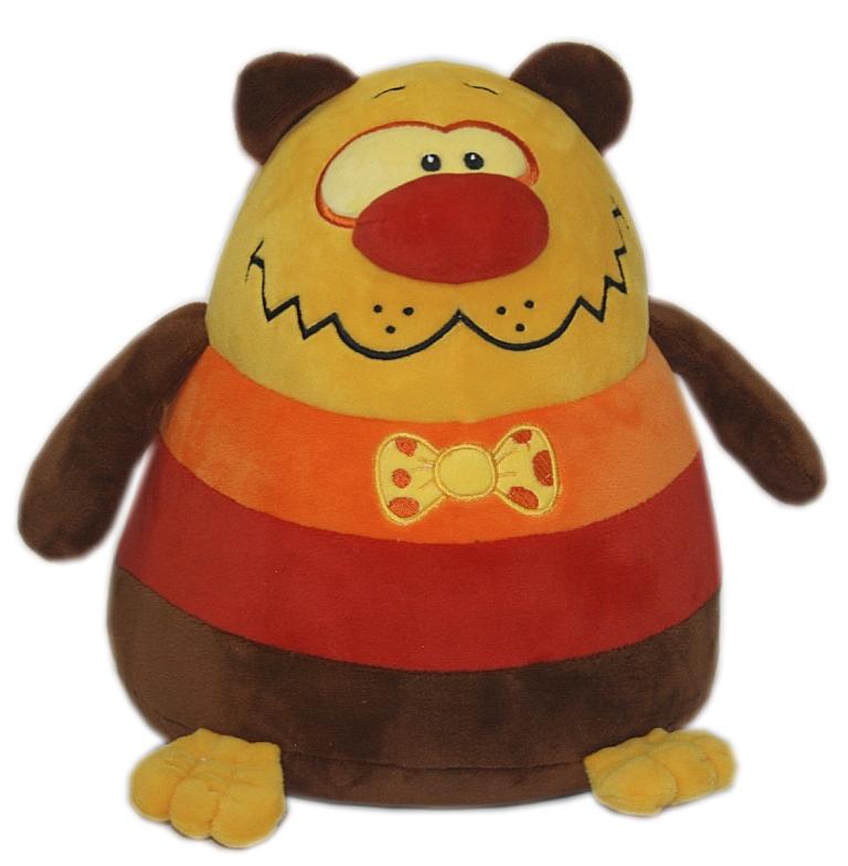 Мягкие игрушки СмолТойс Медвежонок шарик классические смолтойс заяц шарик