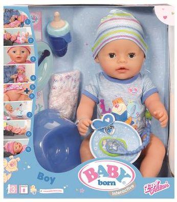 Кукла-мальчик BABY born Мальчик 43 см