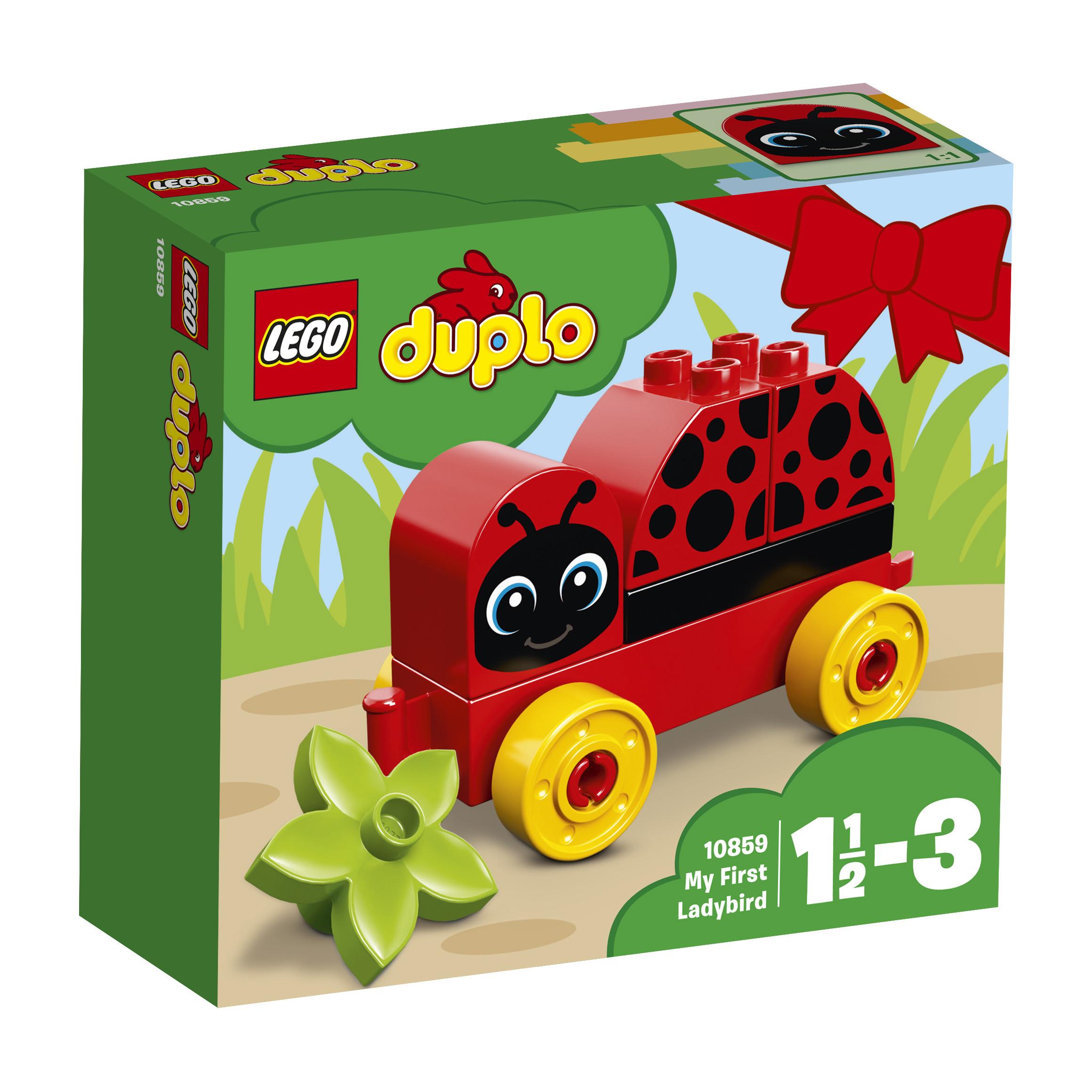 LEGO DUPLO LEGO DUPLO My First 10859 Моя первая божья коровка lego duplo конструктор моя первая ферма