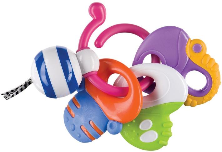 Купить Погремушка, Happy Baby Keys of fun, 1шт., Happy baby 330058, Китай