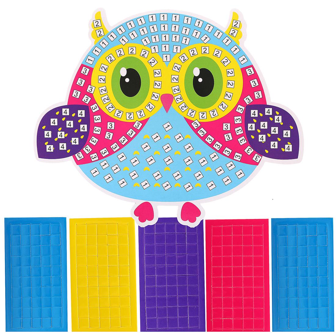 Наборы для творчества Color Puppy Аппликация. Сова наборы для творчества color puppy набор для творчества гравюра цветная