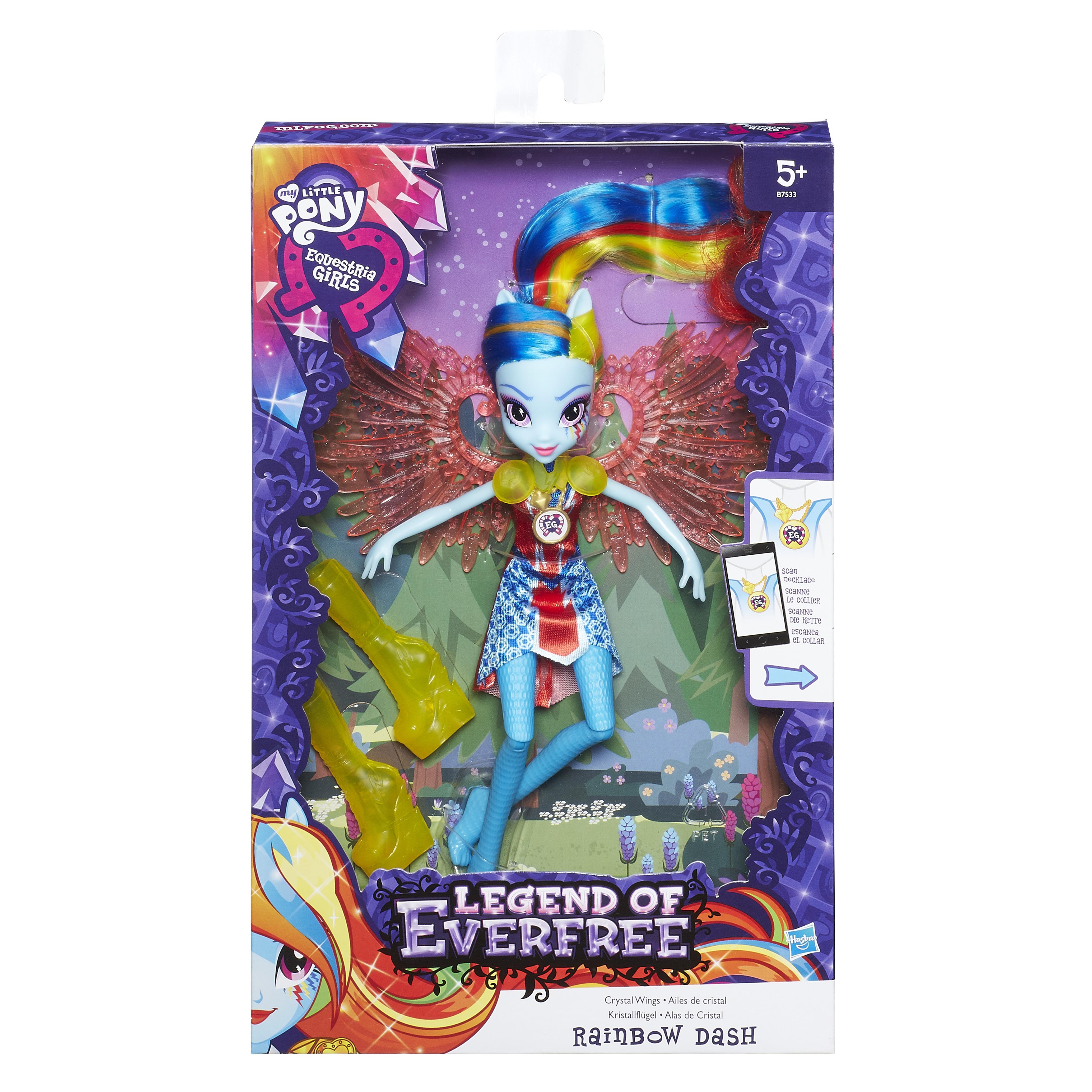 Кукла делюкс Hasbro Легенда Вечнозеленого леса с аксессуарами hasbro b6476 equestria girls кукла рарити легенда вечнозеленого леса
