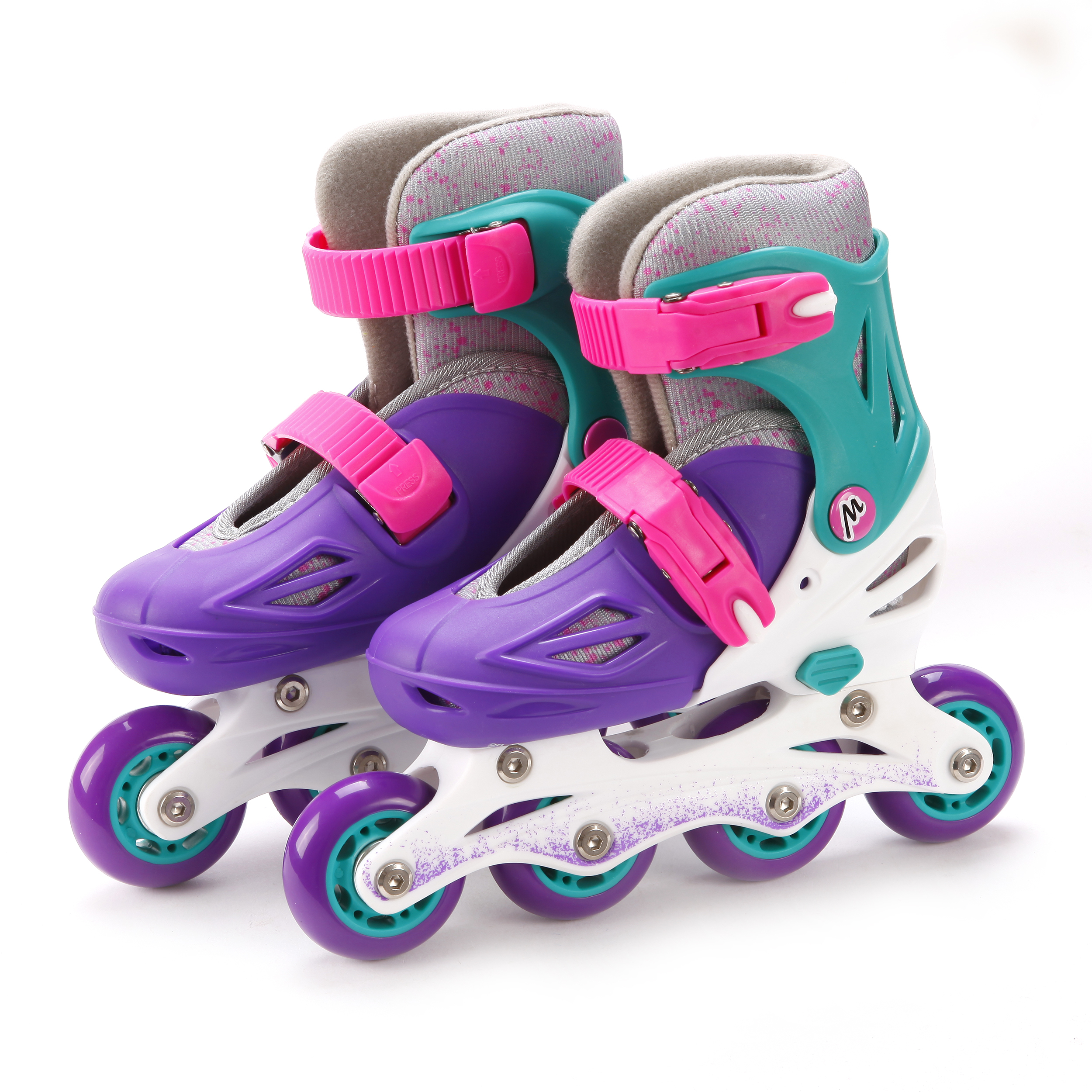 Ролики и скейтборды Moby Kids Коньки роликовые Moby Kids (26-29) раздвижные фиолетовые роликовые коньки cliff csp 168d3 l blue