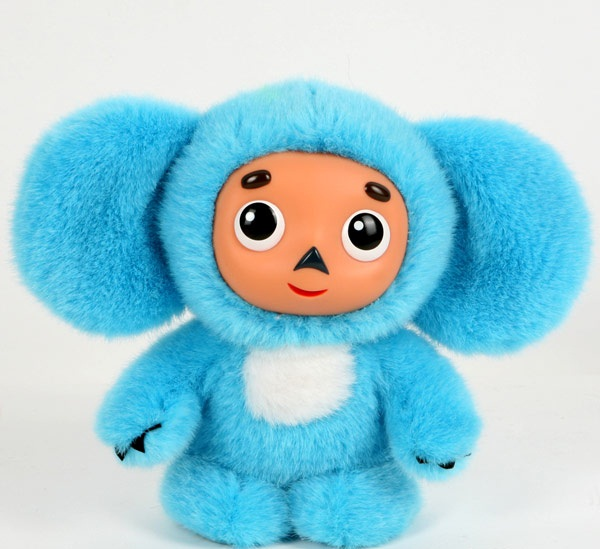 Мягкая игрушка Мульти-Пульти Чебурашка озвученная 14 см