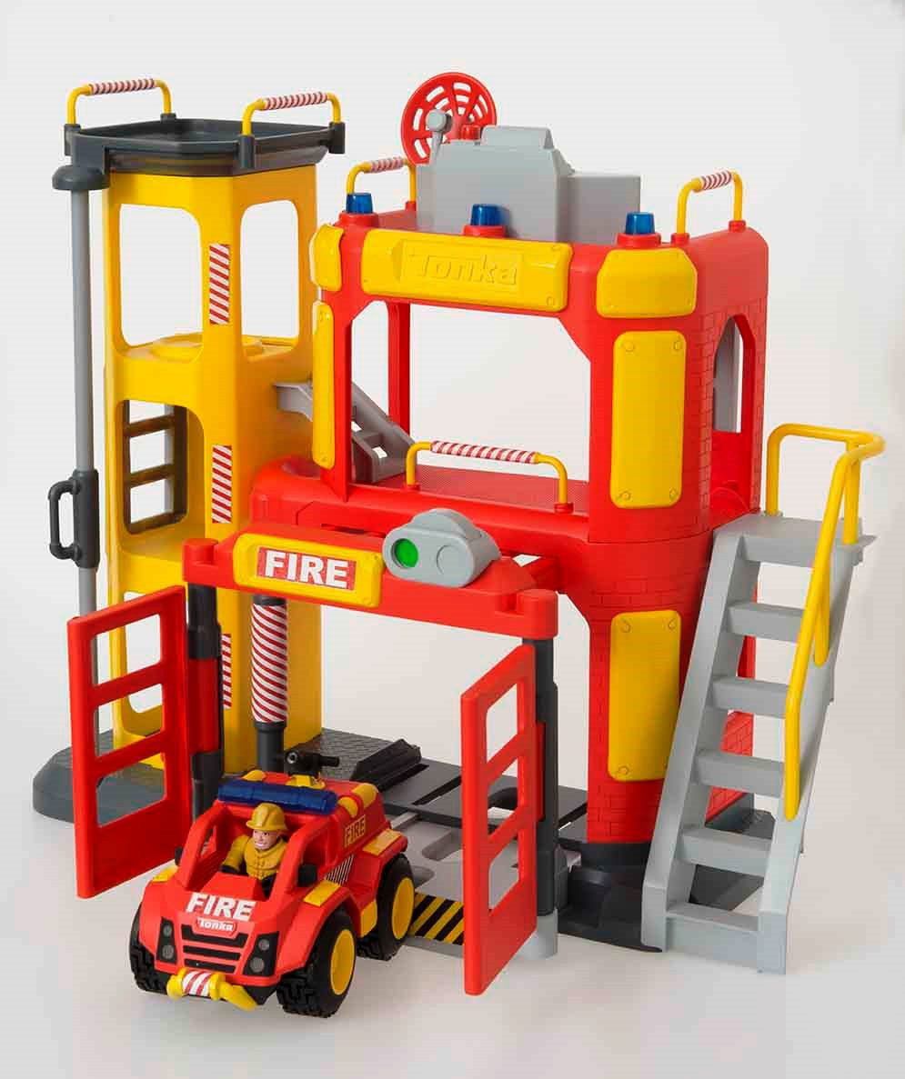 Игровой набор Teamsterz Пожарная станция игровой набор hasbro город пожарная станция b3415