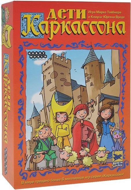 цена на Настольная игра Hobby World «Дети Каркассона. Второе издание»