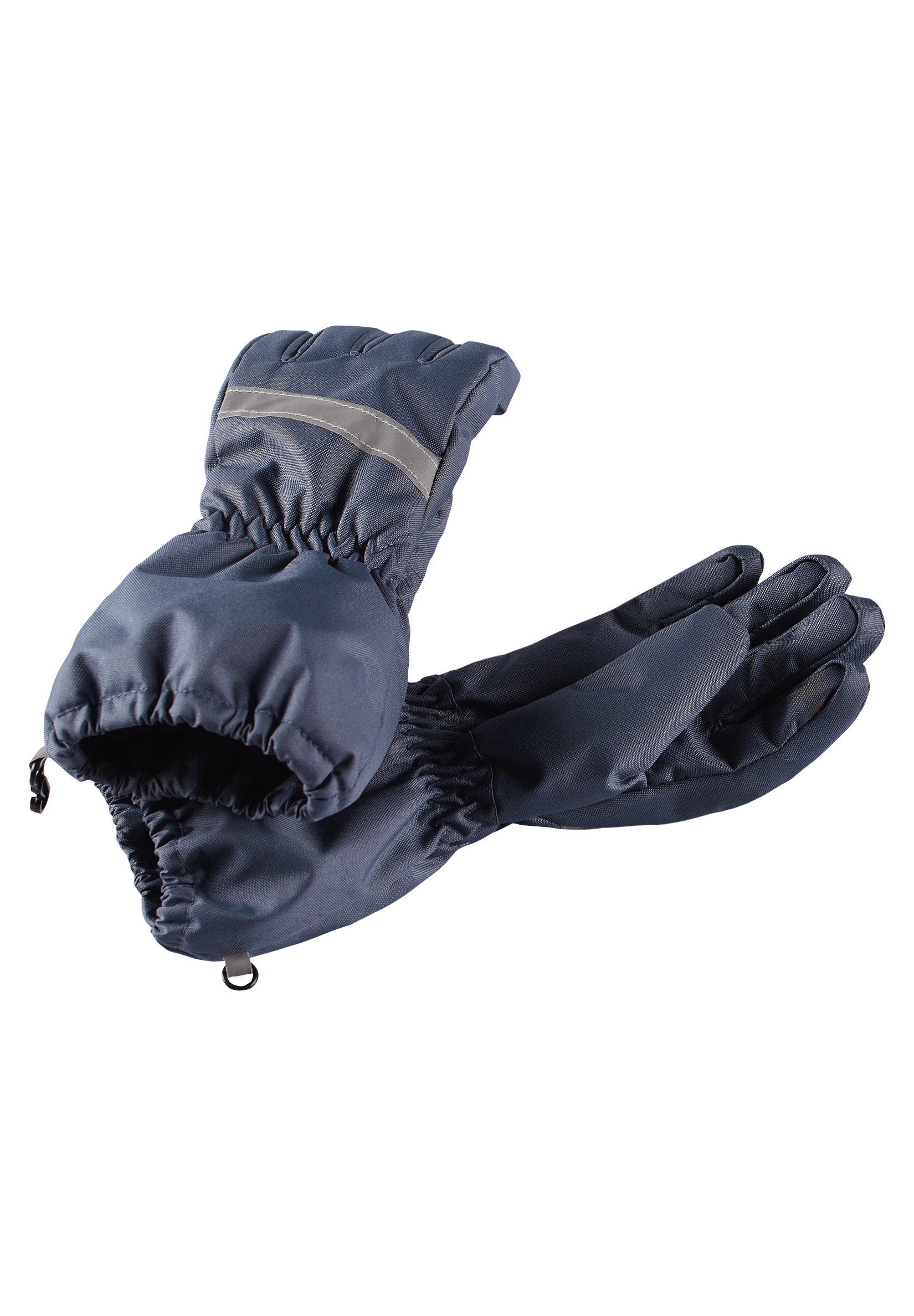 Варежки и перчатки Lassie Перчатки Lassie, серые цена 2017