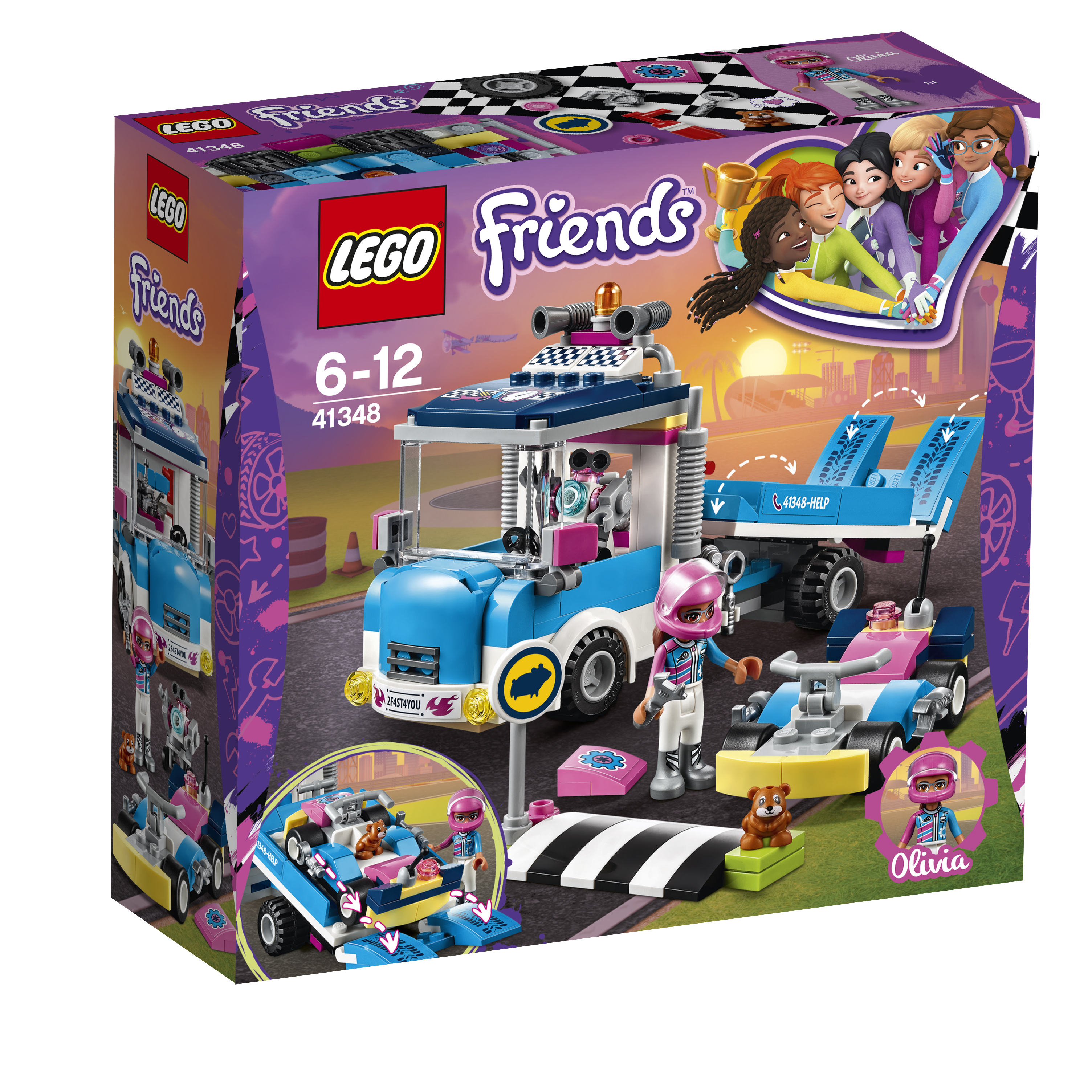 LEGO LEGO Грузовик техобслуживания lego конструктор lego friends 41348 грузовик техобслуживания