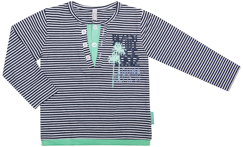 Купить Джемпер для мальчика, Лето на пляже, 1шт., Barkito 32Y-27503KOR, Индия, серый с рисунком в полоску, Мужской