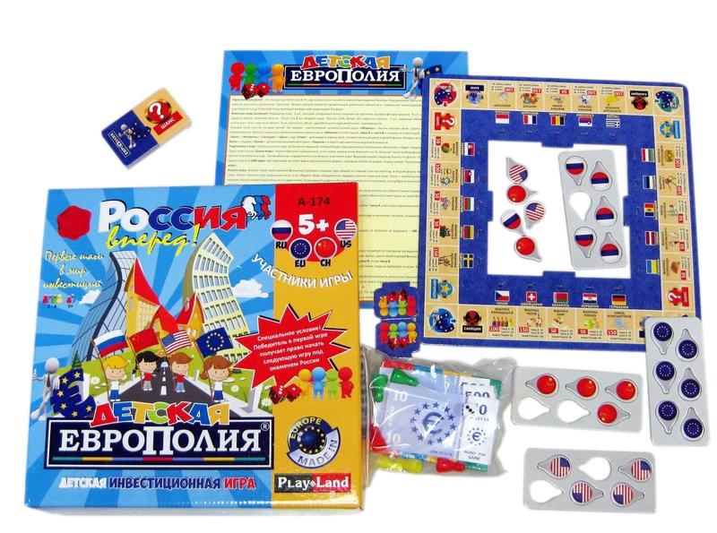 Развлекательные игры Play Land Детская Европолия - Настольные игры