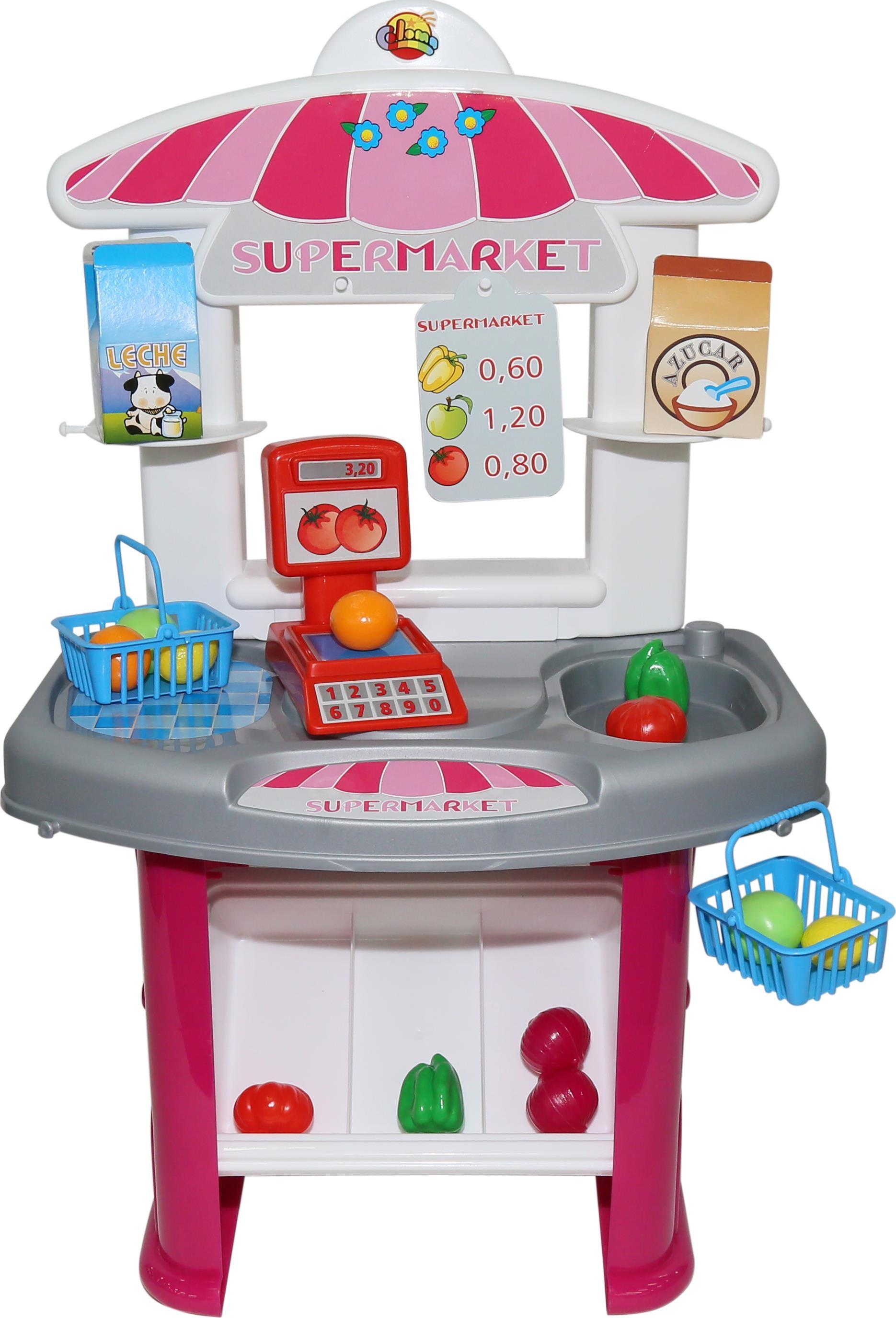 Игровой набор Полесье Супермаркет игровой магазин набор игровой для магазина полесье мини супермаркет в пакете 53404