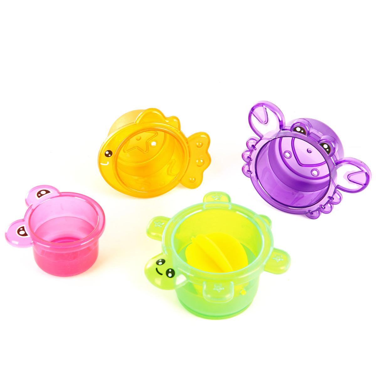 Игрушки для ванной Ути Пути Формочки. Рыбка ути пути набор погремушек гремелки звенелки цвет красный желтый 2 шт