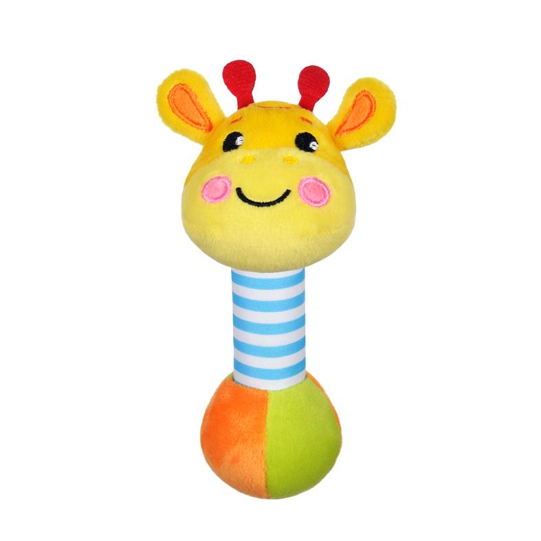Погремушка Жирафики Жирафиксо звуком погремушки жирафики котик со звуком