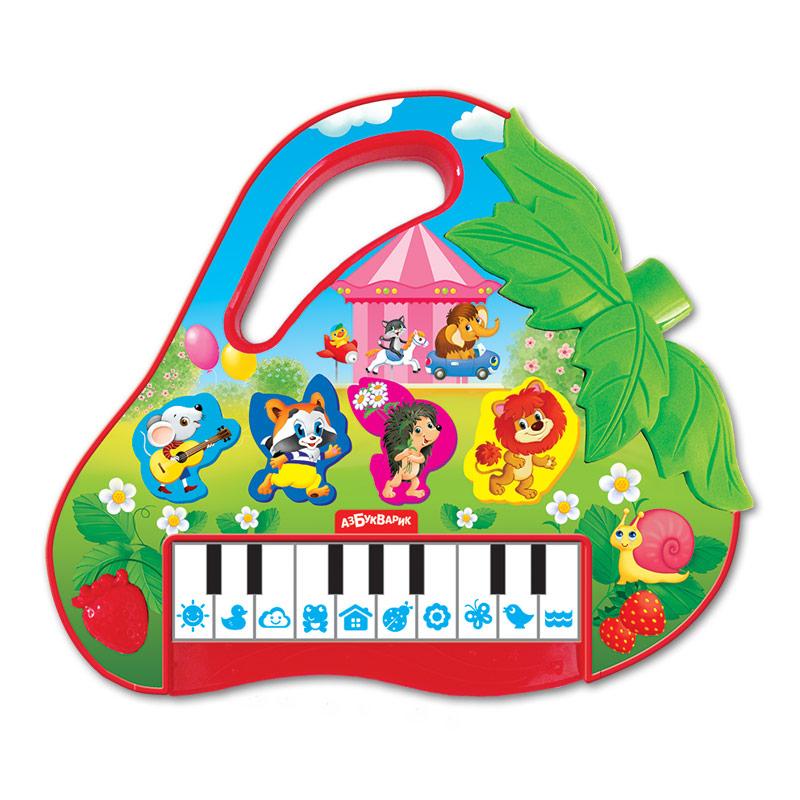 Развивающие игрушки Азбукварик Пианино Азбукварик «Клубничка» азбукварик планшет веселая радуга с пианино