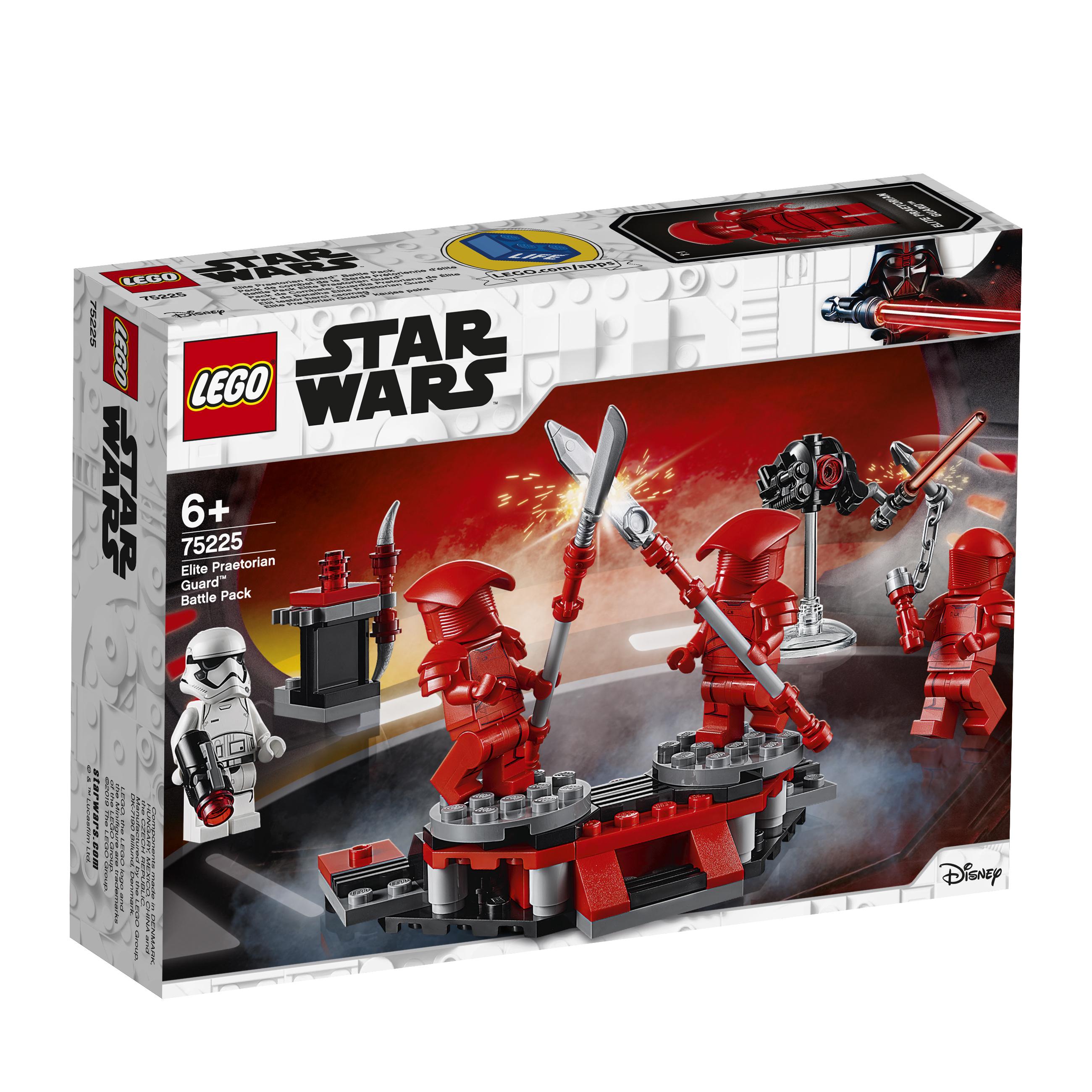 Конструктор LEGO Star Wars 75225 Боевой набор Элитной преторианской гвардии конструктор lego star wars 75132 боевой набор первого ордена