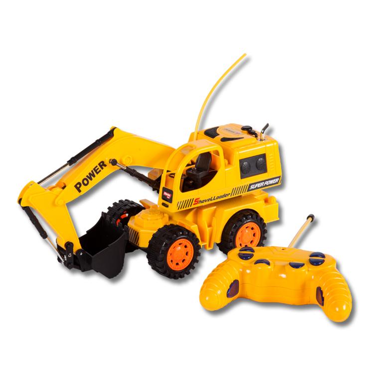 Экскаватор на радиоуправлении Mioshi Mioshi Tech 29,6 см игрушка mioshi tech waterjet yellow mte1201 034