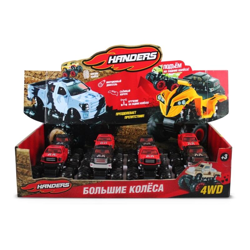 Инерционная игрушка Handers Большие колёса: пикап
