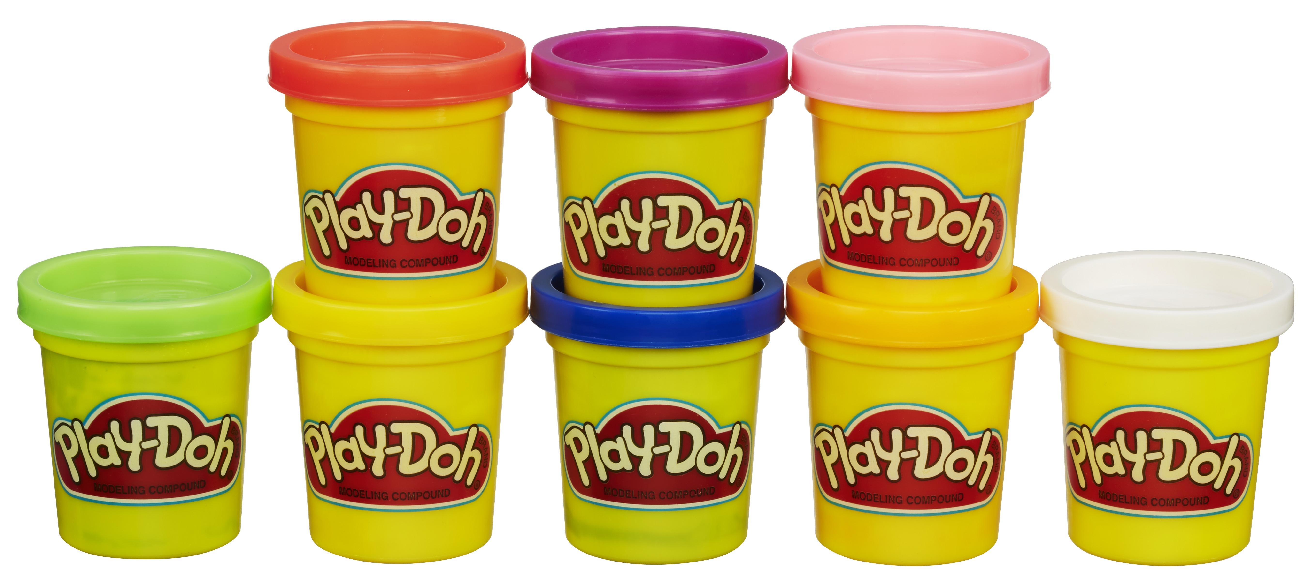 все цены на Пластилин Hasbro Набор пластилина 8 банок онлайн