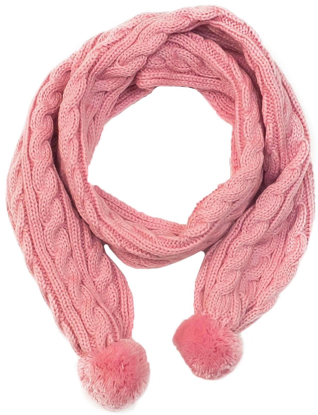 Шарфы Barkito Шарф для девочки Barkito, светло-розовый шарфы foxtrot шарф