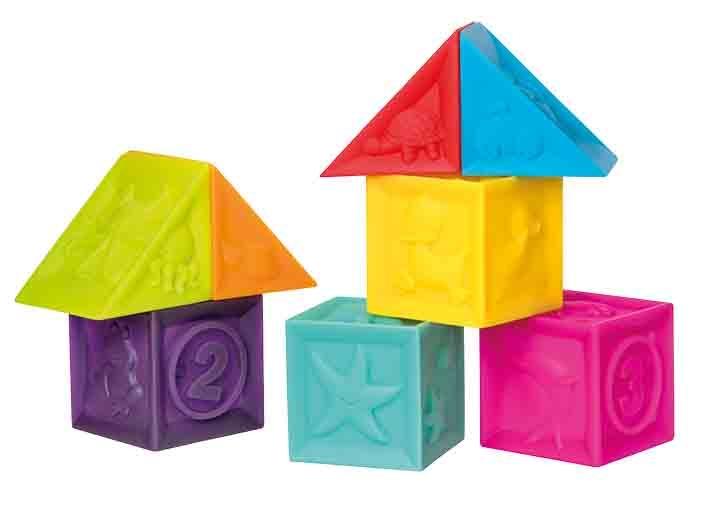 Набор игрушек для ванны Курносики Кубики курносики набор игрушек брызгалок для ванны баю бай