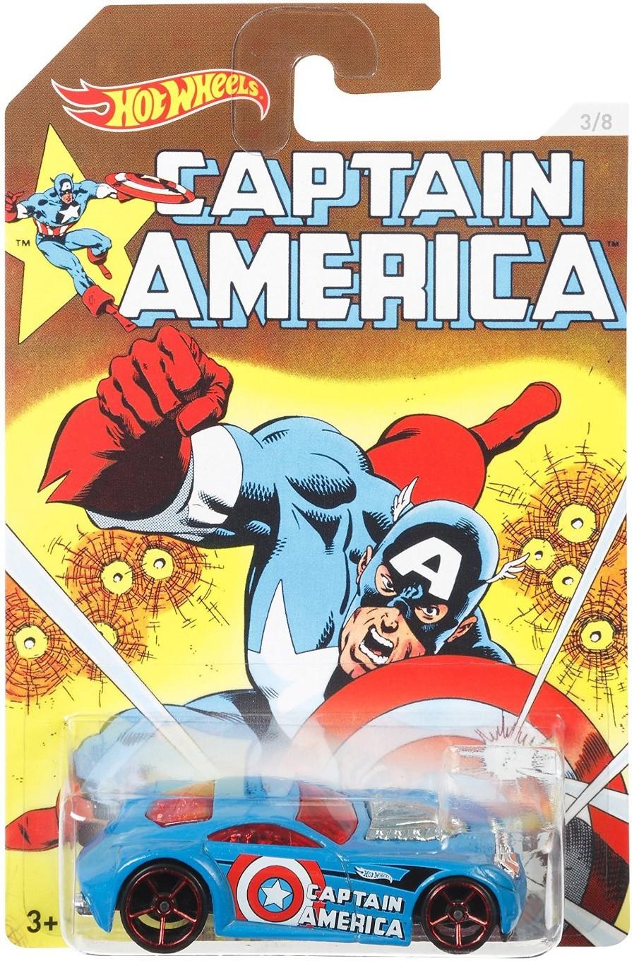 Машинка Mattel Капитан Америка