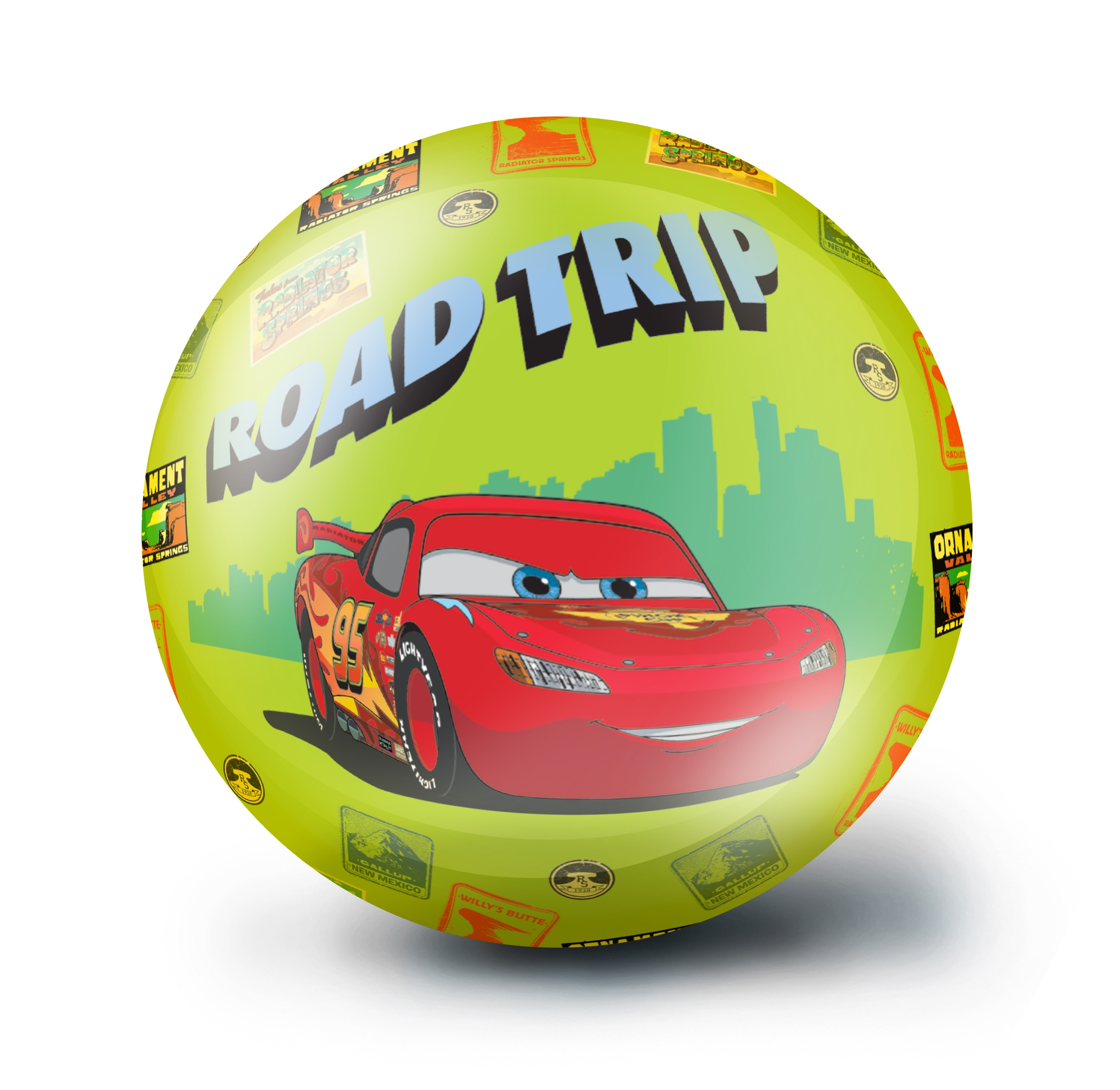 Мяч Fresh Trend Тачки 23 см
