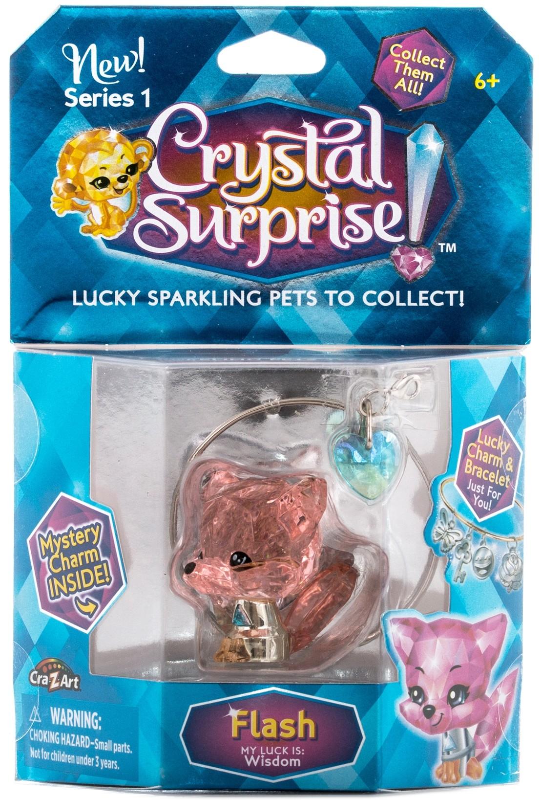Купить Украшения, Лисенок с подвеской, Crystal Surprise, Китай, pink, Женский