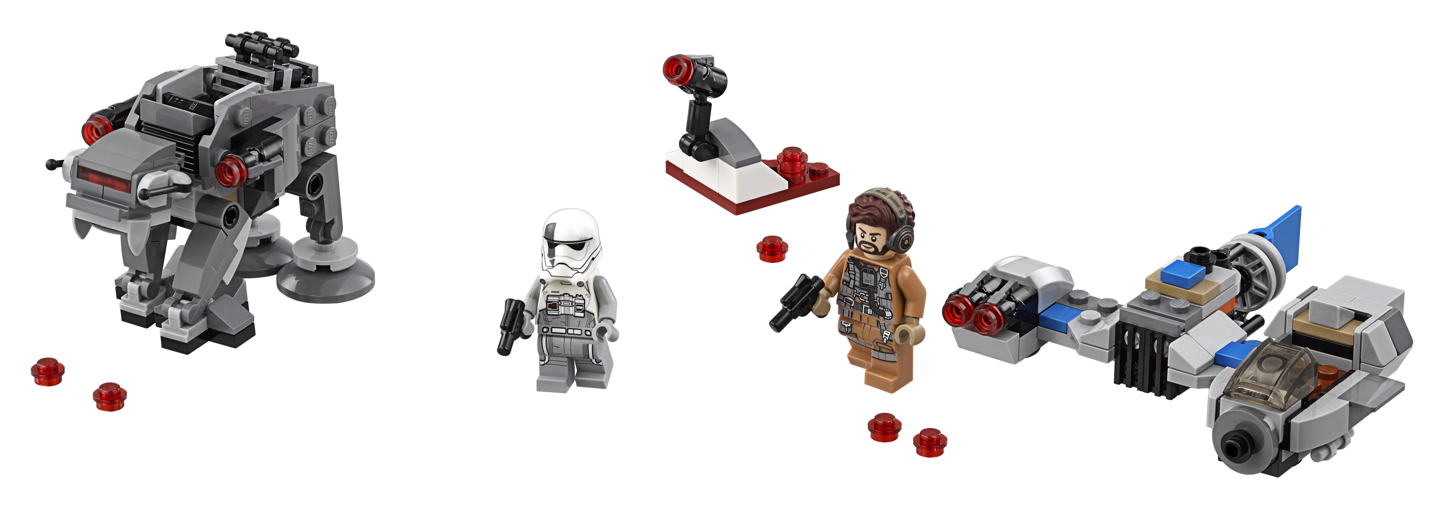 Конструктор LEGO 75195 Бой пехотинцев Первого Ордена против спидера на лыжах lego lego star wars бой пехотинцев первого ордена против спидера на лыжах
