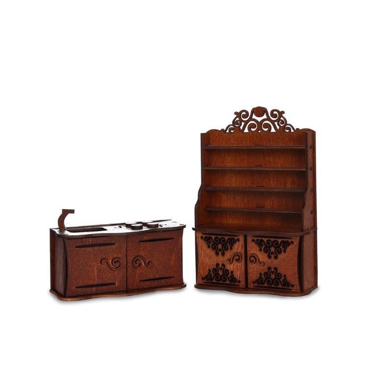 Мебель для кукол ЯиГрушка Кухня мебель для кукол яигрушка игровой набор яигрушка шкаф для спальни