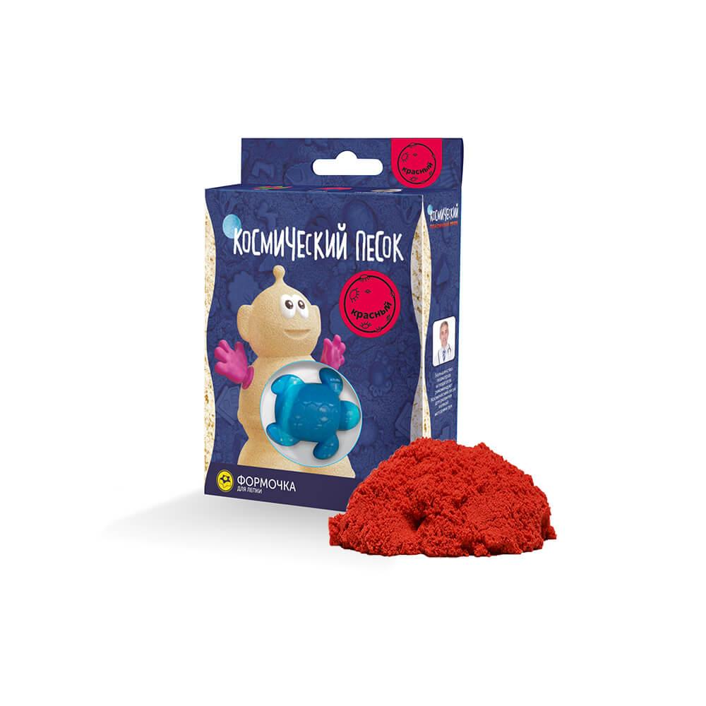 Купить Кинетический песок, Красный, Космический песок, Россия, red