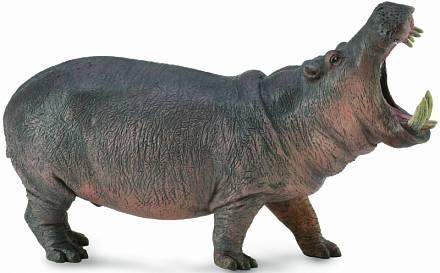 Фигурки животных Collecta Гиппопотом 9 см игровые фигурки gulliver collecta лев африканский l