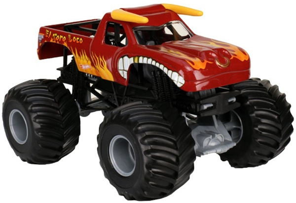 Машинка Mattel Monster Jam 1:64 hot wheels monster jam машинка king krunch