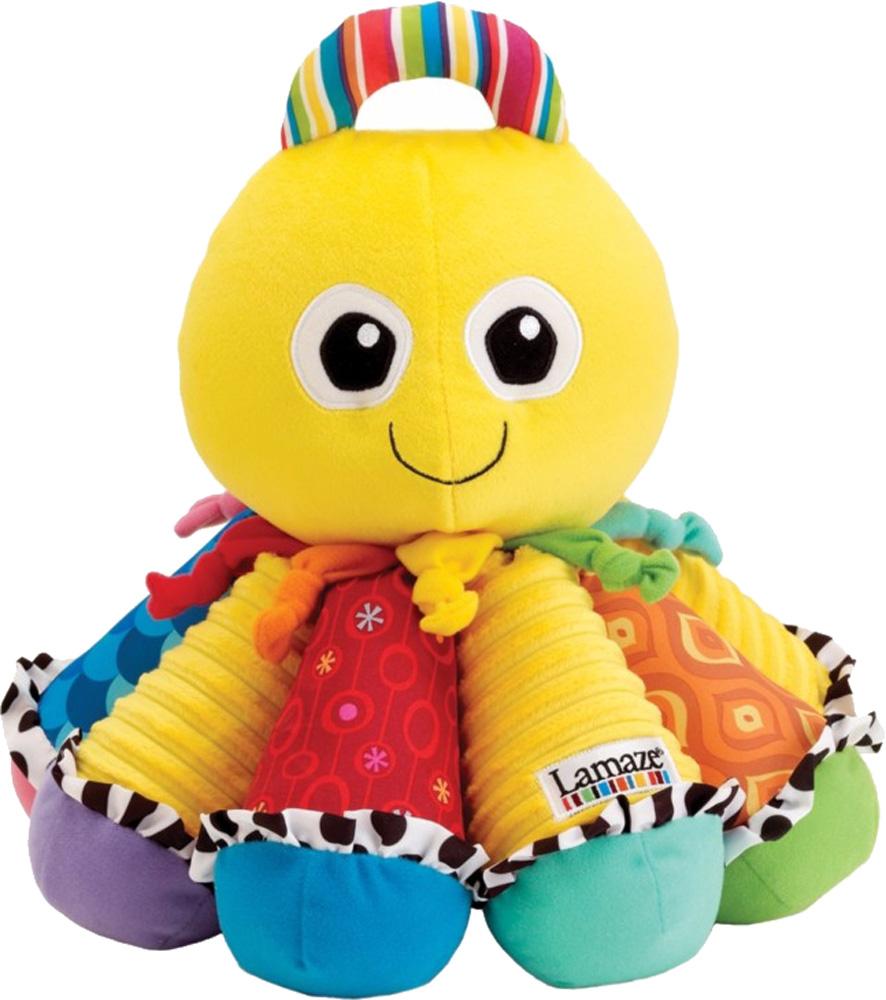 Развивающие игрушки для малышей LAMAZE Музыкальный Осьминожек развивающие игрушки lamaze дракончик флип флап