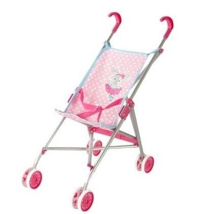 коляска-трость для куклы Наша игрушка Зайка цена 2017