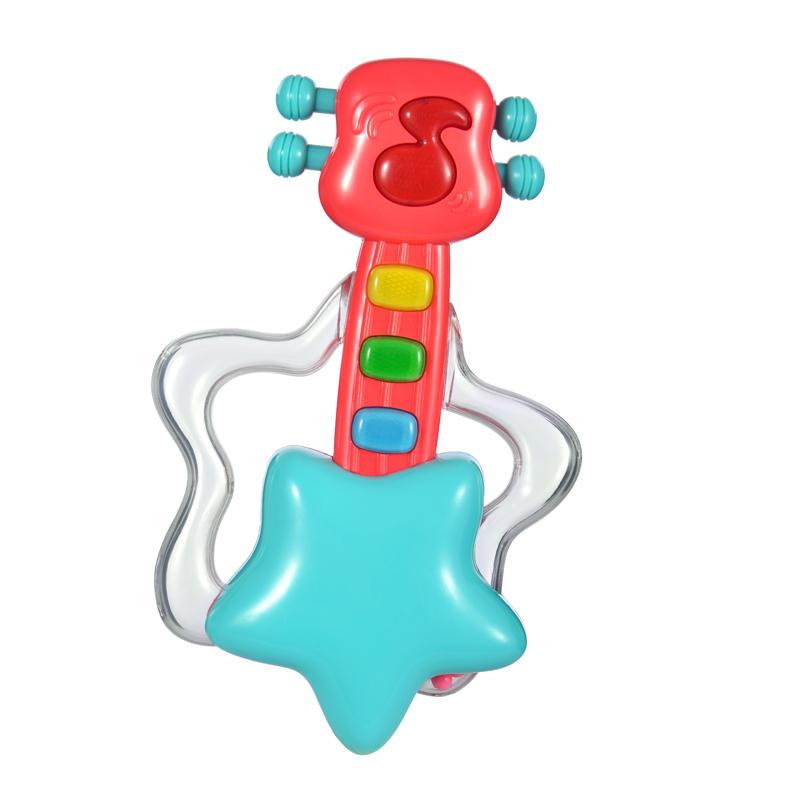 Развивающая игрушка Жирафики Гитара со светом игрушка жирафики музыкальная игрушка гитара 939553