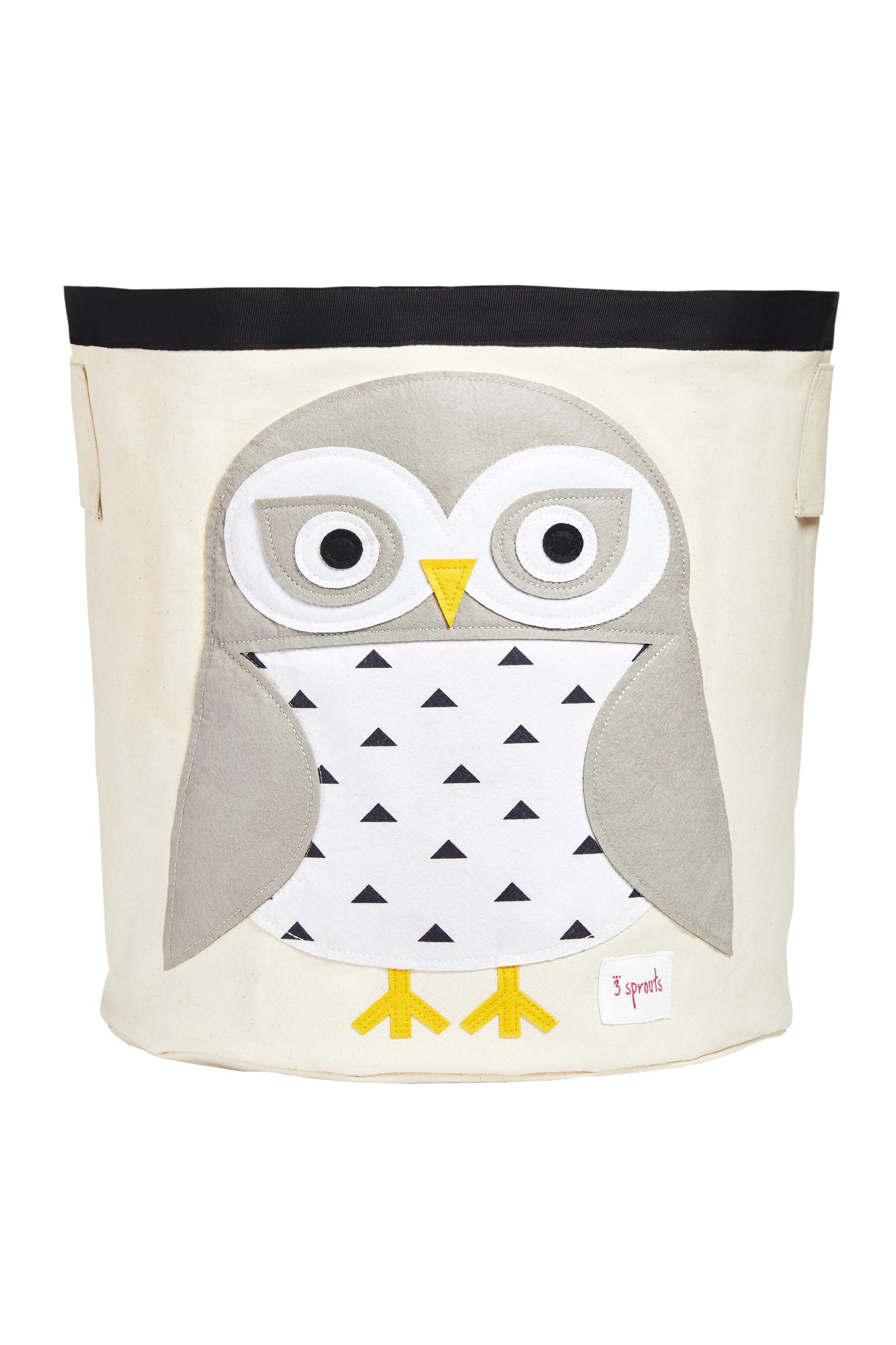 Ящики и корзины для игрушек 3 Sprouts Корзина для хранения 3 Sprouts Snowy Owl