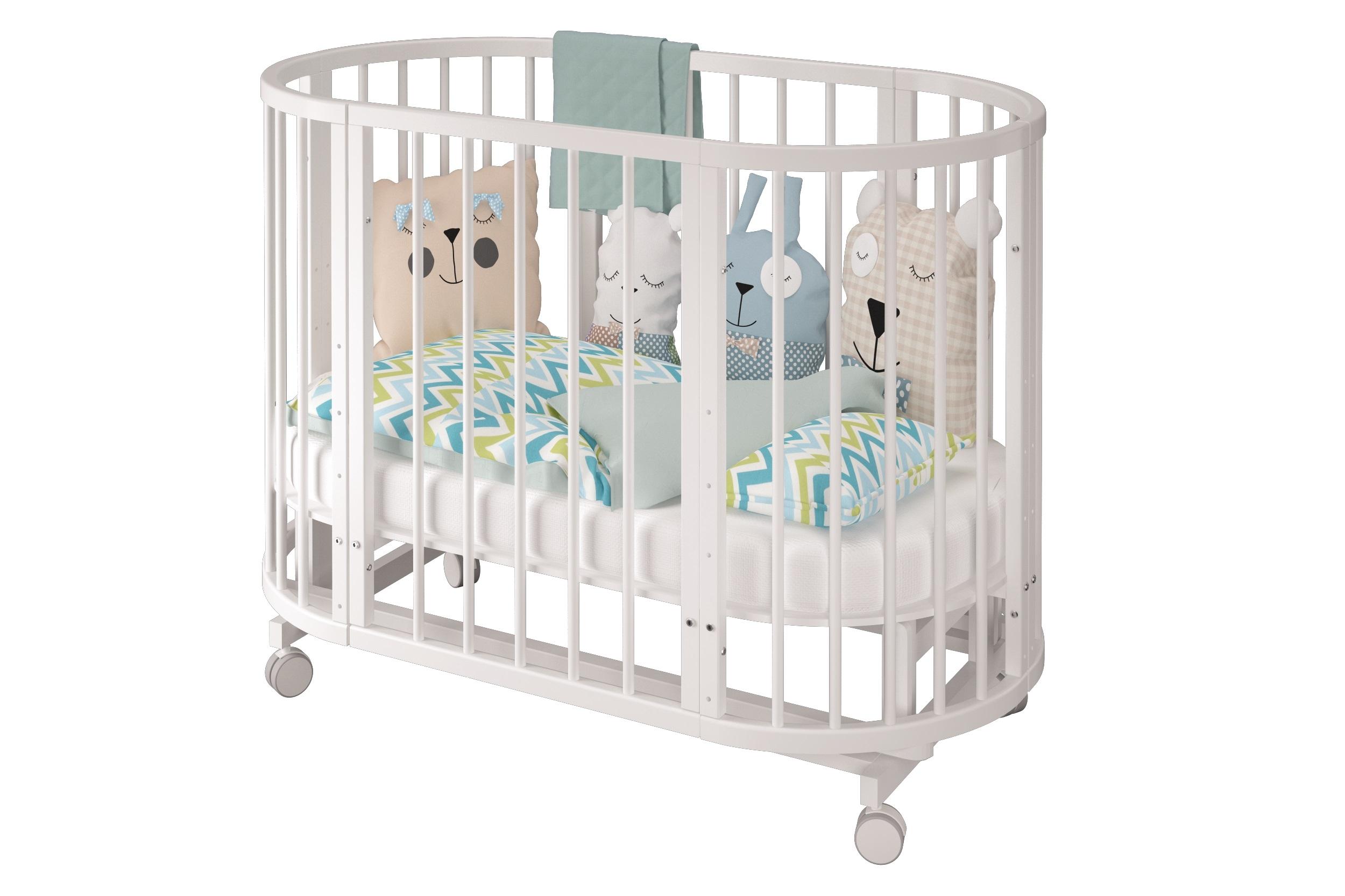 Кроватки Laluca Сильвия детские кроватки можгинский лесокомбинат laluca руслана медвежонок поперечный маятник