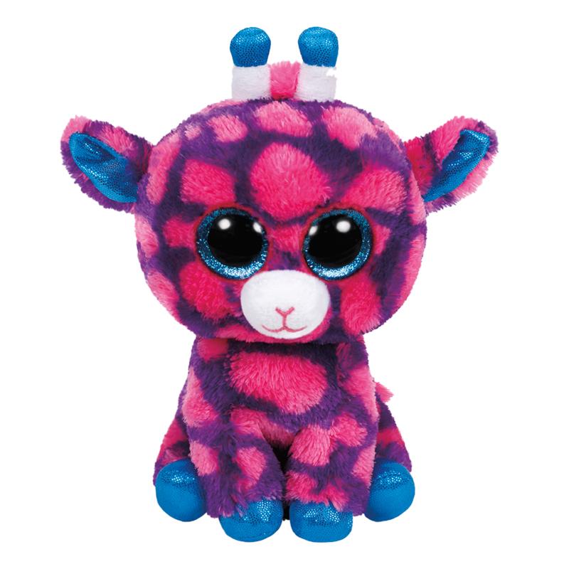 Мягкие игрушки TY Мягкая игрушка TY Beanie Boo's «Жираф Sky High» 15 см ty beanie boos original 6 18cm boom boom the purple panda beanie baby plush stuffed animal collectible soft doll toy kids gifts