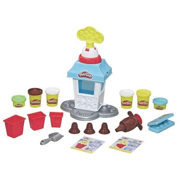 Набор для лепки Play-Doh «Попкорн-вечеринка» игровой набор для лепки play doh ведерочко геометрические фигуры
