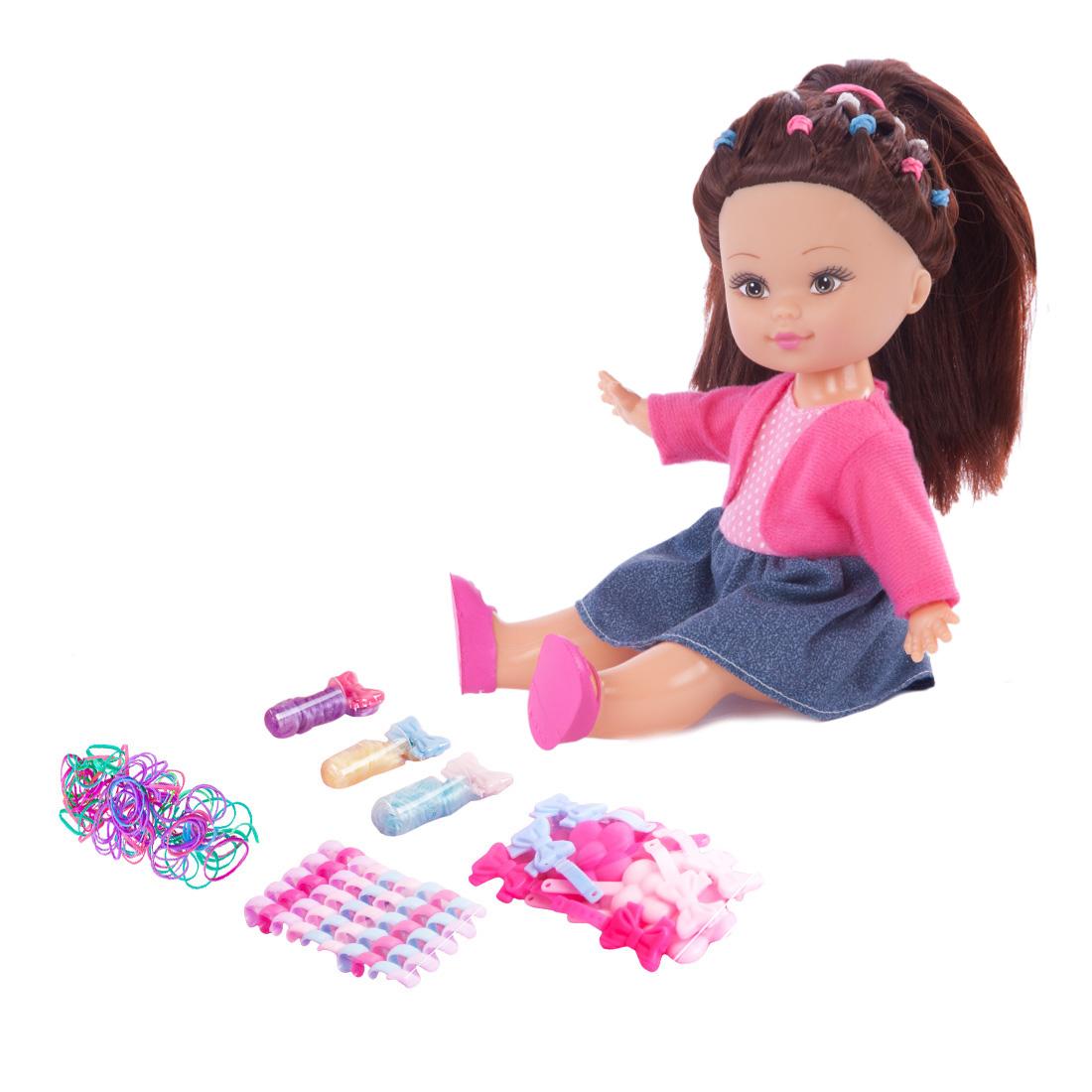 Другие куклы Mary Poppins Кукла Mary Poppins «Элиза. Студия модных причесок» mary poppins mary poppins кукла интерактивная я морщу носик маша page 1