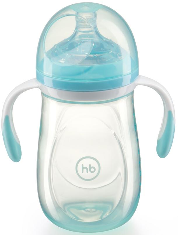 Фото - Бутылочка для кормления Happy baby Anti-Colic Baby Bottle с силиконовой соской 0+ 300 мл. набор для кормления детей happy baby anti colic baby bottle 10009 blue